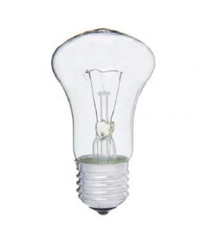 КЭЛЗ Лампа накал 40Вт М50 230В Е27 прозр в гофре