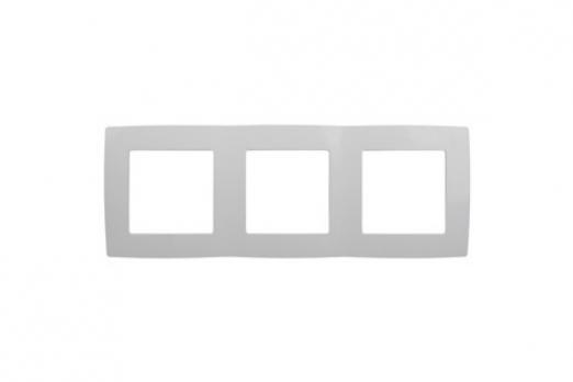 ЭРА Рамка 3 поста, белый 12-5004-01