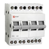 EKF Переключатель трехпоз. 4Р 63А  Basic tps-4-63