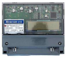 ИНКОТЕКС Счетчик эл.энергии трехфазный Меркурий 231AТ-01 5-60А многотарифный, кл.т. 1,0 (имп вых МО)