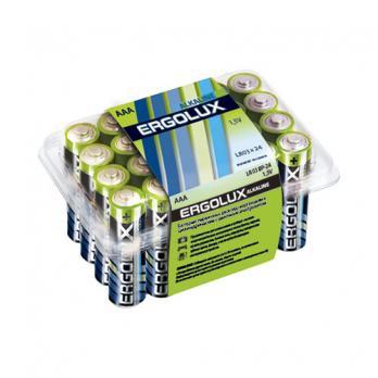 Ergolux ААА LR 03 Plus Alkaline  ВР-24 (батарейка щелочная, 1,5В)