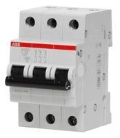 ABB Выключатель автоматический модульный SH203L 3п 63А 4,5кА х-ка С