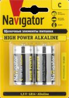 Navigator Элемент питания 343 NBT-NE-LR14-BP4, 1.5В, 94754