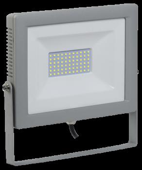 IEK Прожектор светодиодный СДО 07-70 серый IP65