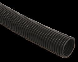 IEK Труба гофр.ПНД 16 с зондом, черная (бухта 100м)