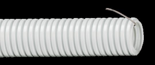 IEK Труба гофр.ПВХ 25 с зондом (за 1 метр)