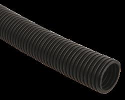IEK Труба гофр.ПНД 32 с зондом, черная (за 1 метр)