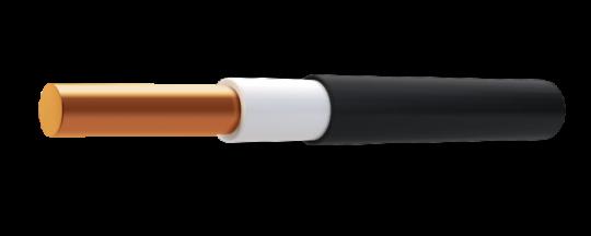 Кабель силовой ВВГ-нг(А)-LS 1 x 2,50, ГОСТ, 1 метр