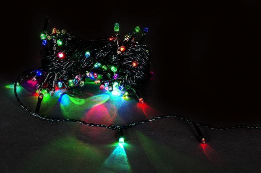 Sneha A-001 LED MIX гирлянда светодиодная 10м, 100 LED, 220В с контроллером