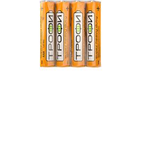 Элемент питания  Трофи R 03-4S AAA /4/60/ C0033711