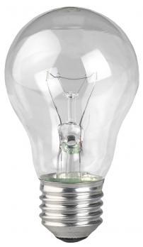 Лампа накал ЭРА А50 60Вт 230В Е27 прозр в гофре
