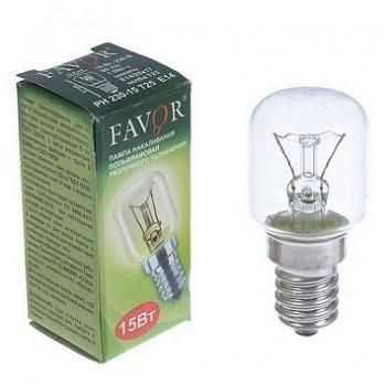 Лампа накал для холодильн. Favor РН 230-15 Е14