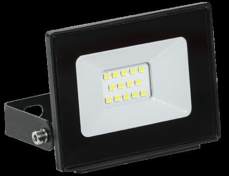 IEK Прожектор светодиодный СДО 06-10 черный IP65
