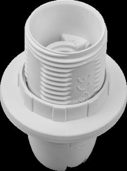 Navigator, Патрон пластиковый белый с кольцом Е14 407486