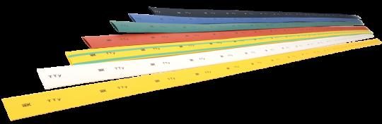IEK Термоусадочная трубка ТТУ 10/5 – 1 метр, желтая