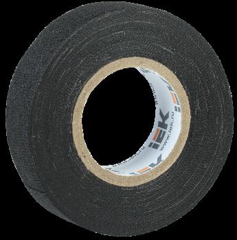 IEK Изолента Х/Б 19 мм 7 метров, черная