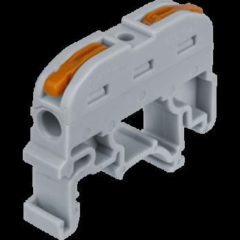 Navigator Клемма NTC-R1-2-50, 2-х контакт, 61682, 1 шт