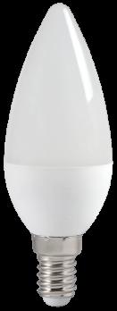 IEK Лампа светодиодная ECO C35 свеча 5Вт 230В 4000К E14
