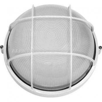 IEK Светильник НПП 2602 белый круг с решеткой 60 Вт, IP54