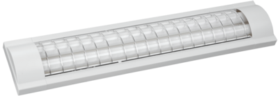 IEK Светильник ЛПО 3017 ЭПРА 2 х 36 Вт 230В Т8/G13 м/решетка без ламп
