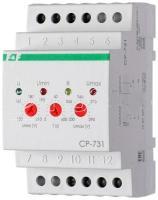 Реле напряжения CP-731 3-ф; микропроцесс., контроль асимметрии; черед. фаз;3х400/230+N 2х8А 1Z 1R