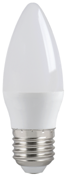IEK Лампа светодиодная ECO C35 свеча 7Вт 230В 4000К E27