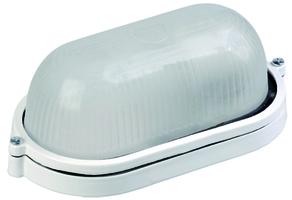 IEK Светильник НПП 1401 белый овал 60 Вт, IP54