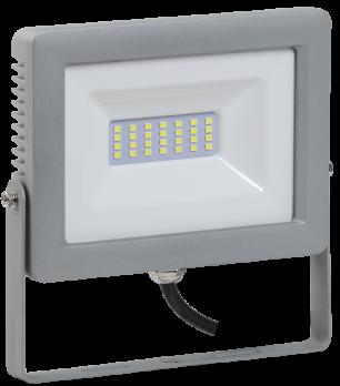 IEK Прожектор светодиодный СДО 07-30 30Вт 6500К серый  IP65