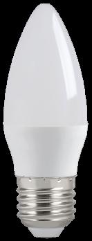 IEK Лампа светодиодная ECO C35 свеча 5Вт 230В 4000К E27