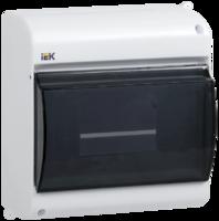 IEK Корпус навесной с прозр. крышкой КМПн 2/4 для 4-х авт.выкл.