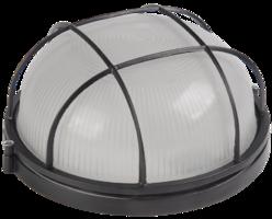 IEK Светильник НПП 1302 белый круг с решёткой 60 Вт, IP54