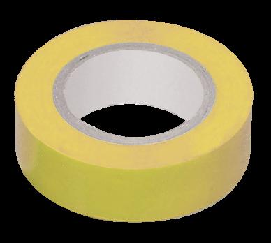 IEK Изолента 0,18 х 19 мм х 20 метров, желтая