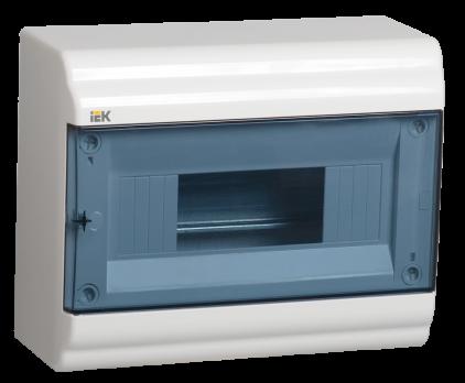 IEK Корпус PRIME навесной ЩРН-П 09 модулей, пластик IP41 дверь прозрачная