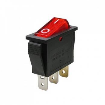 Выключатель для колодок одна узкая клавиша