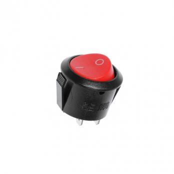 Выключатель для колодок одна круглая клавиша