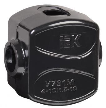 Зажим кабельный ответвительный У-731М (4-10/1,5-10 мм2) IP20