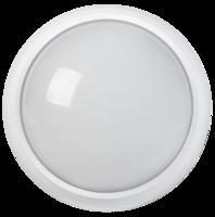 IEK Светильник ДПО 3010 светодиодный 8Вт 4500К, IP54 круг белый пластик