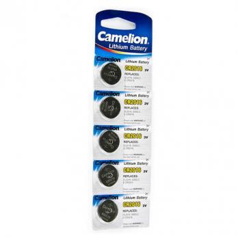 Camelion CR2016 BL-5 (батарейка литиевая, 3В) таблетка