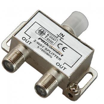 Proconnect Антенный делитель на 2 ТВ 5-1000МГц, 05-6031