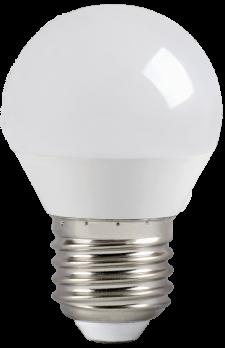 IEK Лампа светодиодная ECO G45 шар 3Вт 230В 4000К E27