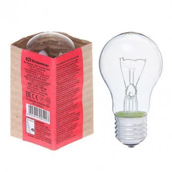 Лампа накал 95Вт А50 230В Е27 прозр в гофре