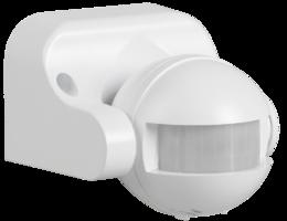 IEK Датчик движения ДД 009 белый, 1100Вт, 180°, дальность 12м, IP44