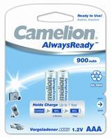 Camelion АAА-900mAh Ni-Mh BL-2 (аккумулятор, 1,2В)