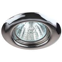 ЭРА Светильник ST3 CH штампованный MR16,12V/220V, 50W хром C0043804