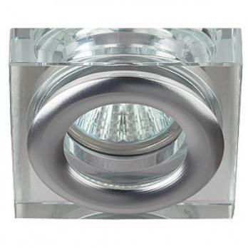 ЭРА Светильник WR4 CH/SL влагозащищенный MR16,12V/220V, 50W хром/серебро Б0009344