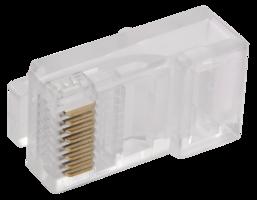 ITK разъем RJ-45 UTP для кабеля кат.5Е, 8Р8с